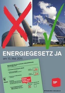 Ja zum Energiegesetz