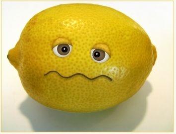 Die Zitrone ist ausgepresst